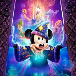 Disneyland  magicien moment