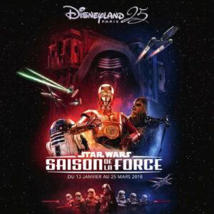 Starwars Saison de la FORCE 2018 disney