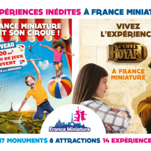FRANCE MINIATURE - VISUEL CLE BROCHURES ET SITES WEB - FORMAT PORTRAIT - SAISON 2019